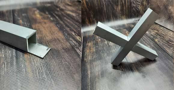 послуги порізки алюмінієвих профілів